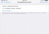 iPhone'da istenmeyen Numaraları engelleme