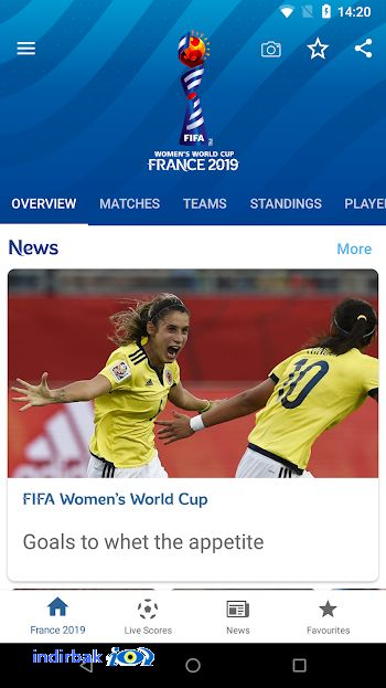 FIFA Women s World Cup France 2019 Official App