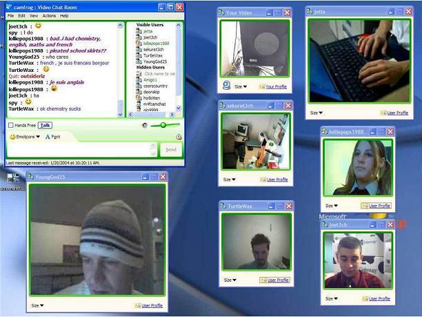 Camfrog Video ChatResimli Anlatim