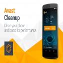 Avast Cleanup  android gereksiz dosya temizleme