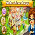 Cartoon City: farm to village. Build your home