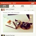 KakaoStory  iphone sosyal ağ programı