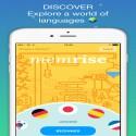 Memrise  iphone için yabancı dil öğrenme