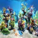Sim Aquarium 3D  3 b akvaryum ekran koruyucu