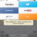Yandex.Browser for iPhoneResimli AnlatimResimli